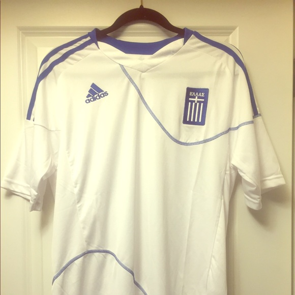new concept 3366e 0f6fb Greece National Team HOME soccer Jersey